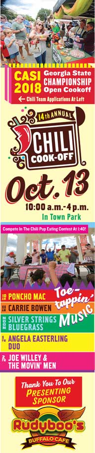Chili Cook Off Fall Festival Madison Ga Official Website