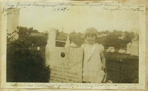 adelaide wallace age 4