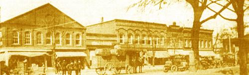 main street circa 1915
