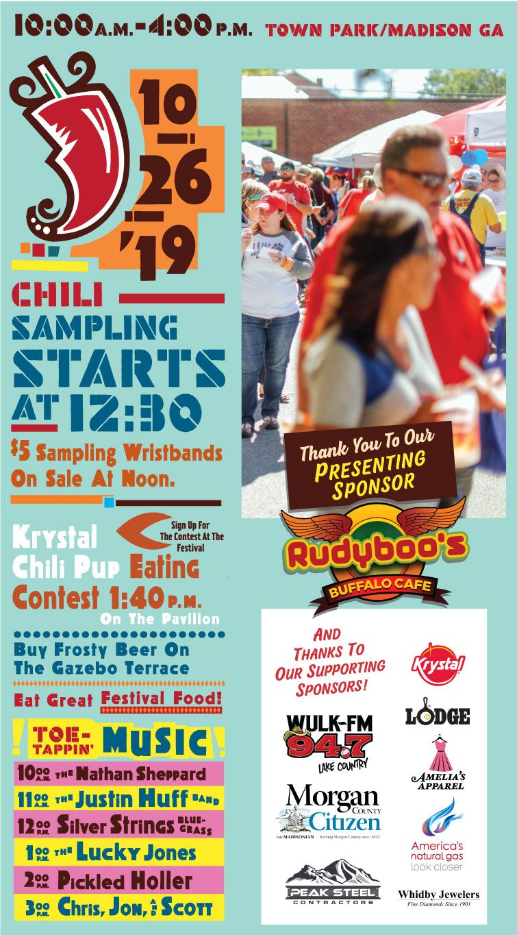 Chili Cook-off poster