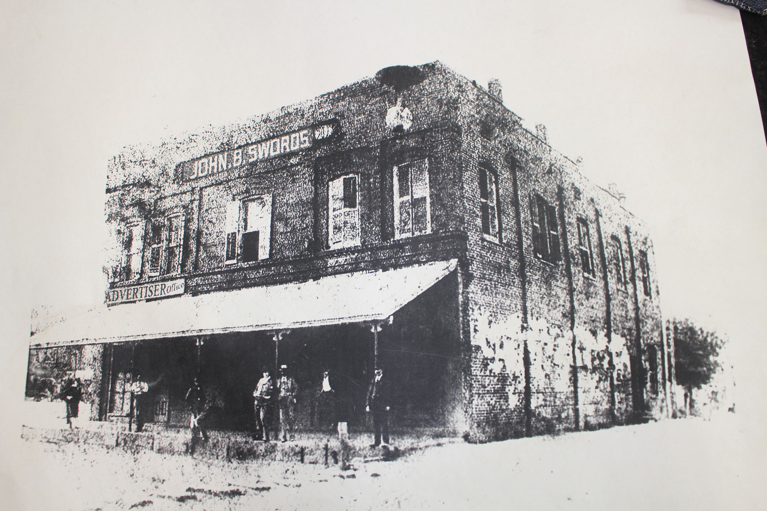 Swords Building c. 1895