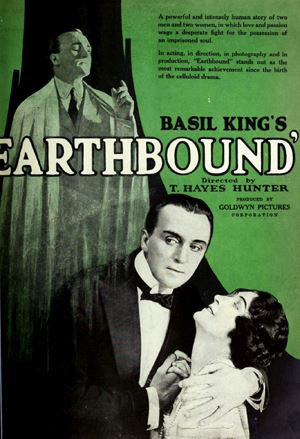 Poster for 1920 movie Earthbound