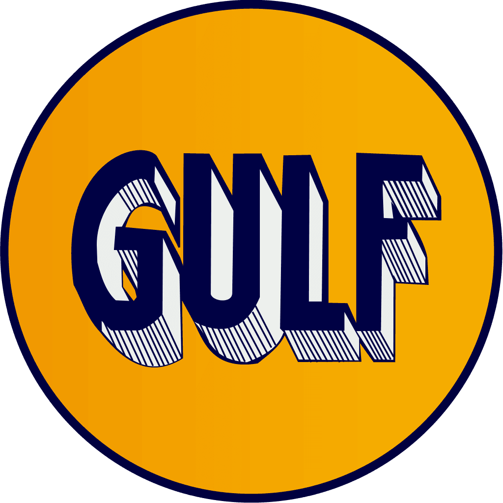 1920s Gulf Logo